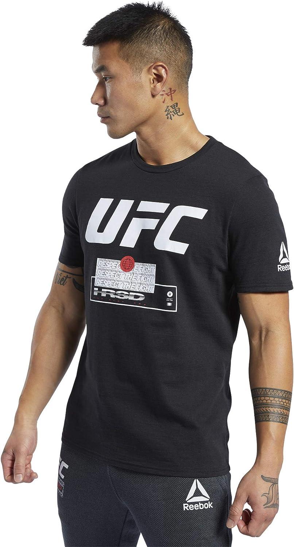Maglietta Uomo Reebok UFC Fg Fight Week Tee