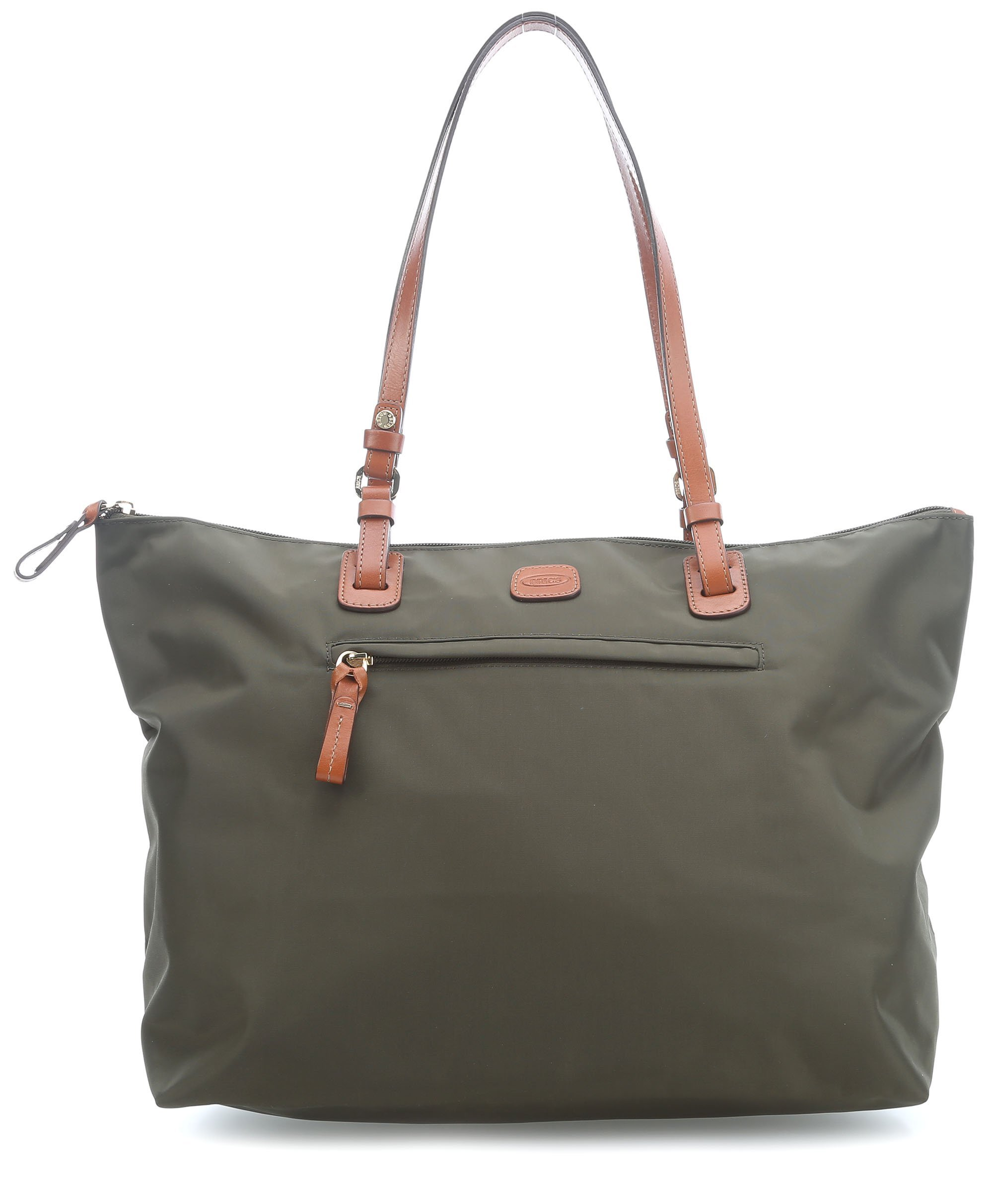 Bric's Women's X x 2.0 Large Sportina Shopper Tote Travel Shoulder Bag, Olive, One Size by Bric's