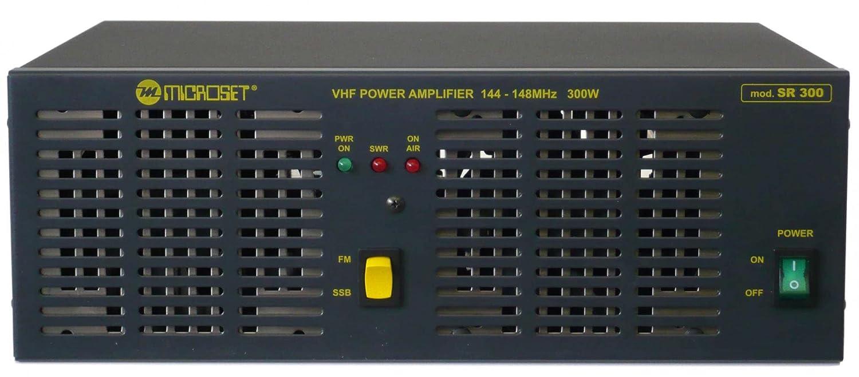 Amplificador Lineal 300 W banda VHF 144 - 148 MHz a Estado Sólido - Microset SR300: Amazon.es: Electrónica
