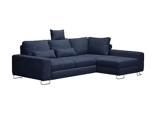 Windsor & Co sofá de Esquina Derecha Convertible con baúl de ...