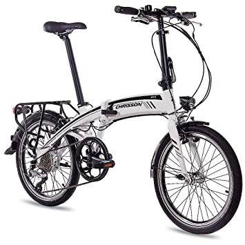 20 pulgadas E-Bike S bicicleta plegable bicicleta plegable para City Rad CHRISSON EF1