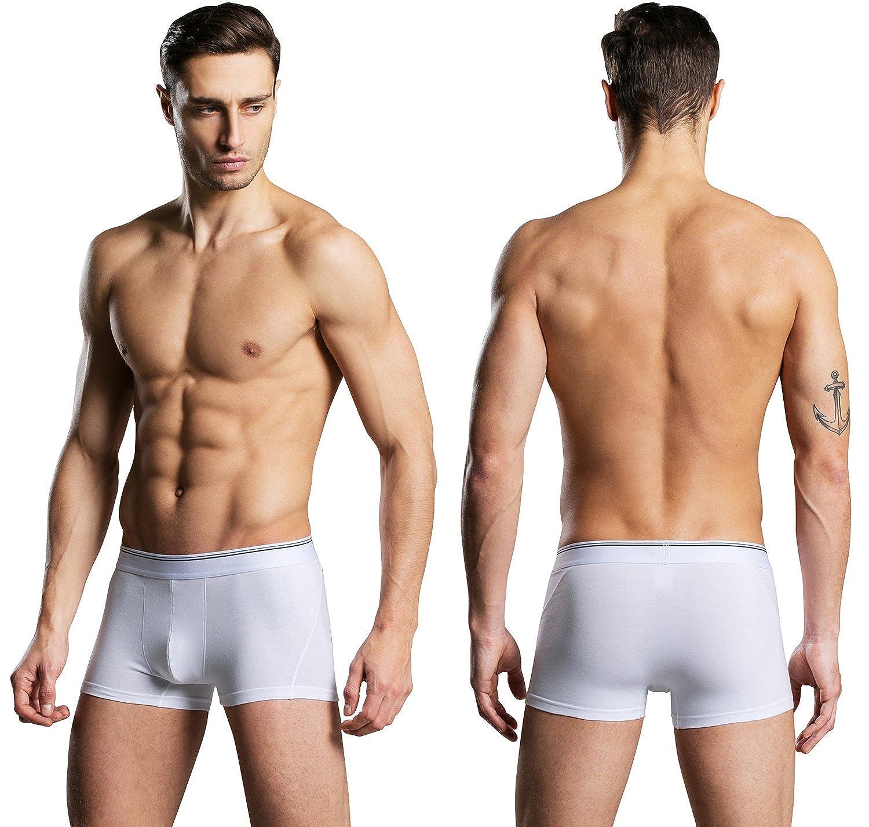Satankud Mens Performance Trunk Boxer Briefs Sports Underwear Multipack