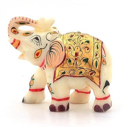 Buy Greentouch Crafts Jaipur Raga Rajasthani Handmade Elephant