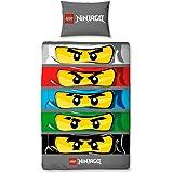 Character World Lego Ninjago Eyes Single Panel Duvet