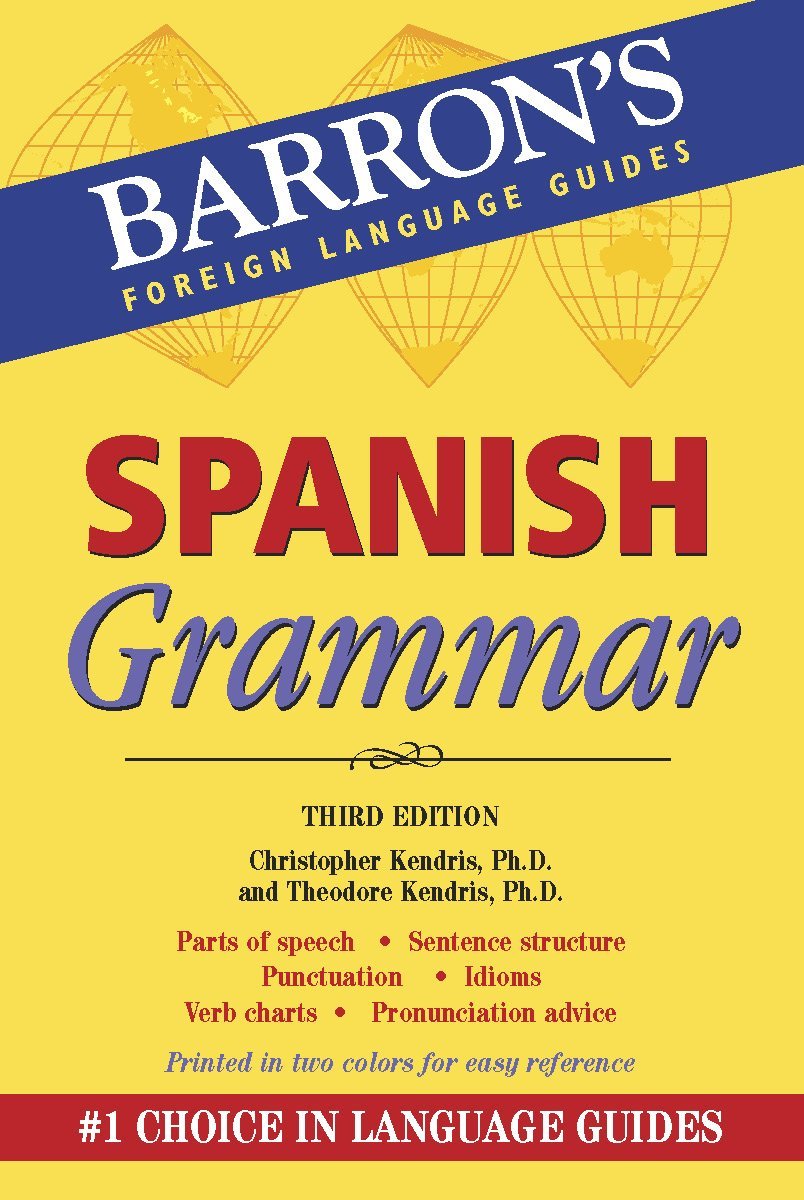Kendris, C: Spanish Grammar (Barrons Grammar): Amazon.es: Kendris ...