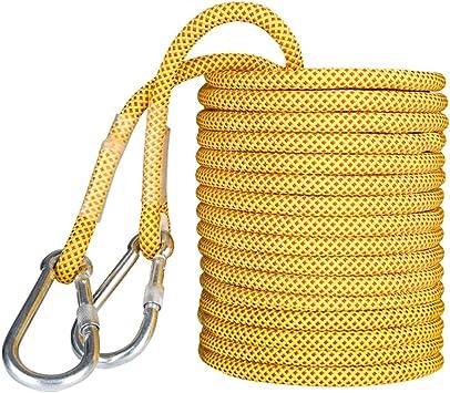 YIN YIN Equipo al aire libre Cuerda de seguridad, 14mm / 16mm ...