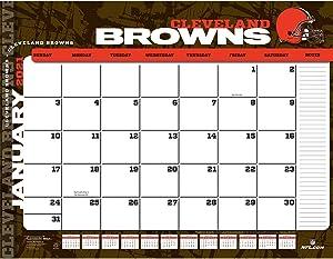 TURNER Sports Cleveland Browns 2021 22X17 Desk Calendar (21998061533)