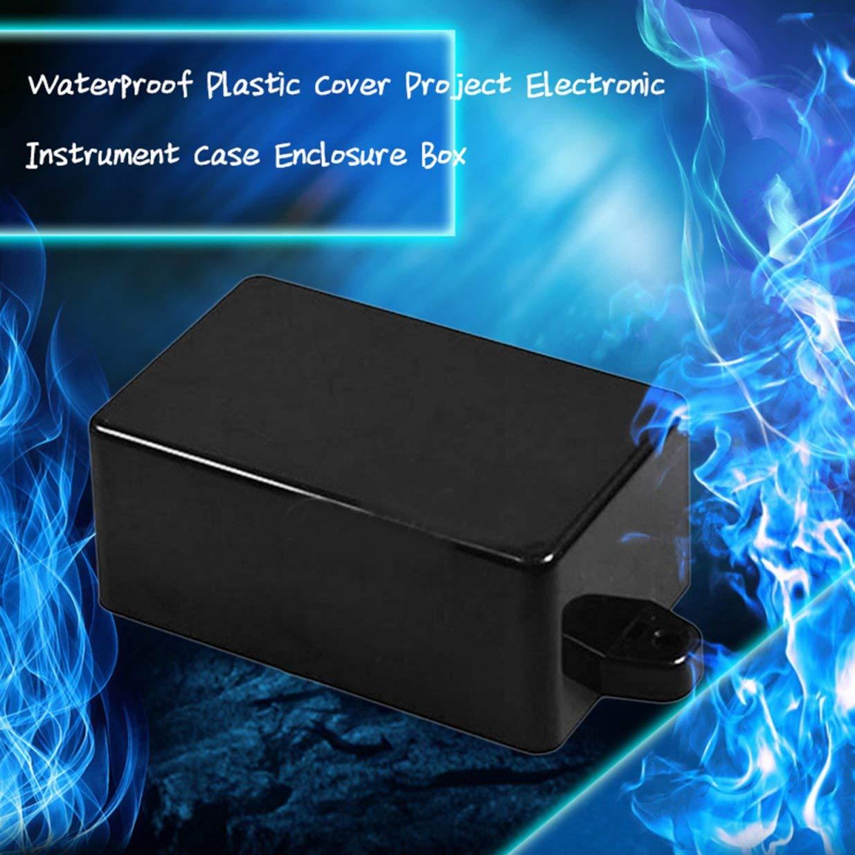 Sairis Heavy Gauge Construction en plastique extrud/é Projet de couverture en plastique imperm/éable Bo/îtier de bo/îtier d/'instrument /électronique