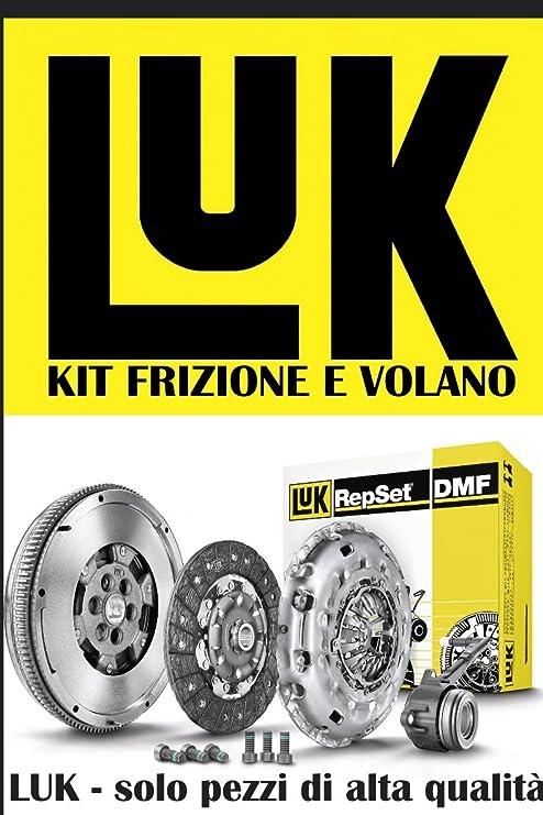 624 3371 00 + 415 0362 10 Kit Embrague 3 piezas con volante bimassa origianle Luk 624337100 + 415036210: Amazon.es: Coche y moto