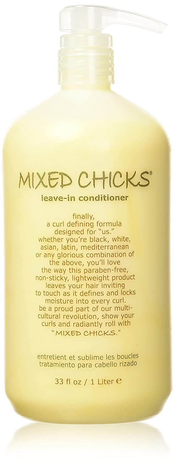 Mixed Chicks Leave-in Conditioner, 33-Ounce/1-Liter MXLEAVEIN1000