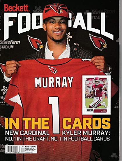 July 2019 Beckett Football Price Guide Magazine Vol 32 No 7