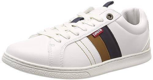 Levis Footwear and Accessories Tulare, Zapatillas para Hombre, Blanco (Regular White 51)