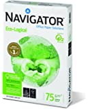 Navigator Eco-Logical - Papel para impresora (A4, 500 unidades), blanco