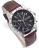 SEIKO クロノグラフ 腕時計 本革ベルトセット 国内セイコー正規流通品 ブラック ディープブラウンベルト SND367P1-DB [並行輸入品]
