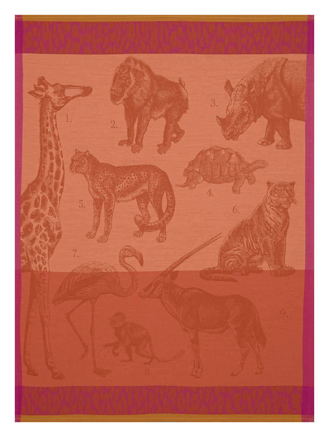 Le Jacquard Français 24959 Safari Fauve - Paño de Cocina (60 x 80 cm, algodón): Amazon.es: Hogar