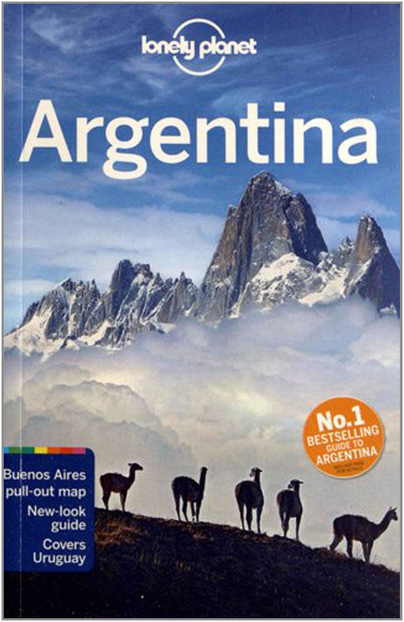 Lonely Planet Argentina Travel Guide Lonely Planet Sandra Bao - Argentina map lonely planet