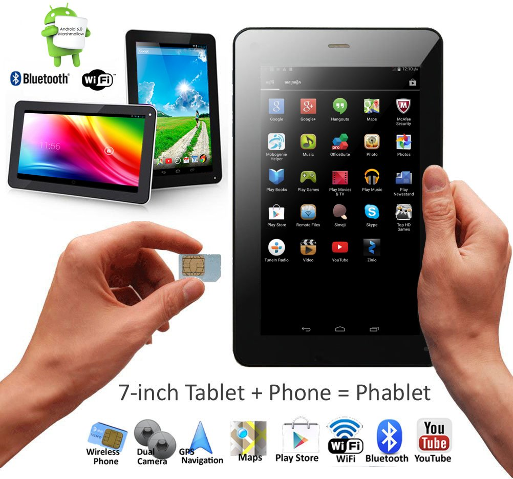 GSM Unlocked Android 4 4 Smartphone & TabletPC by Indigi (DualSIM +  Compatible w/Bluetoth + Google Play Store + DualCameras)
