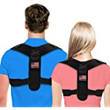 Posture Corrector For Men And Women - Adjustable Upper Back Brace For Clavicle To Support Neck, Back and Shoulder…