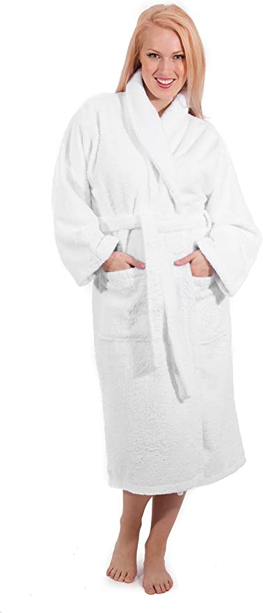 CHARCOAL GREY GREAT GIFT! *BRAND NEW* BATHROBE HIS AND HERS ROBES
