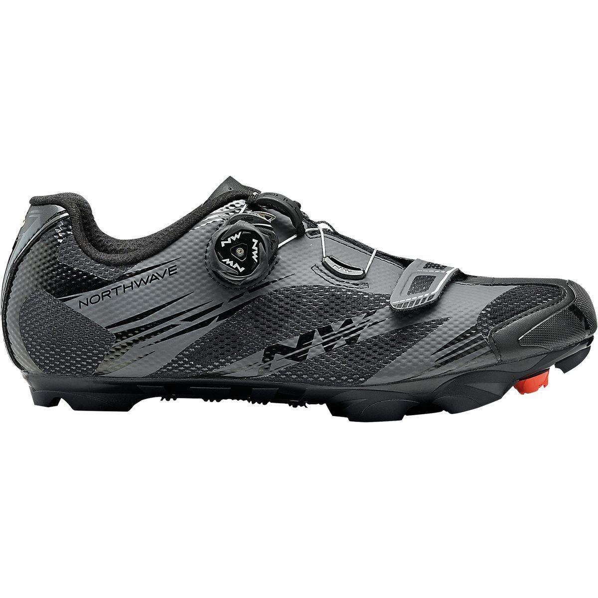 ノースウェーブScorpius 2 Plus Cycling Shoe – Men 's B00IXFW1OM 46|ブラック/アントラシート ブラック/アントラシート 46