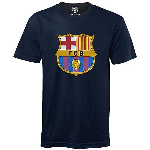 8d3721102ad6d FC Barcelona - Camiseta oficial para niños - Con el escudo del club   Amazon.es  Ropa y accesorios