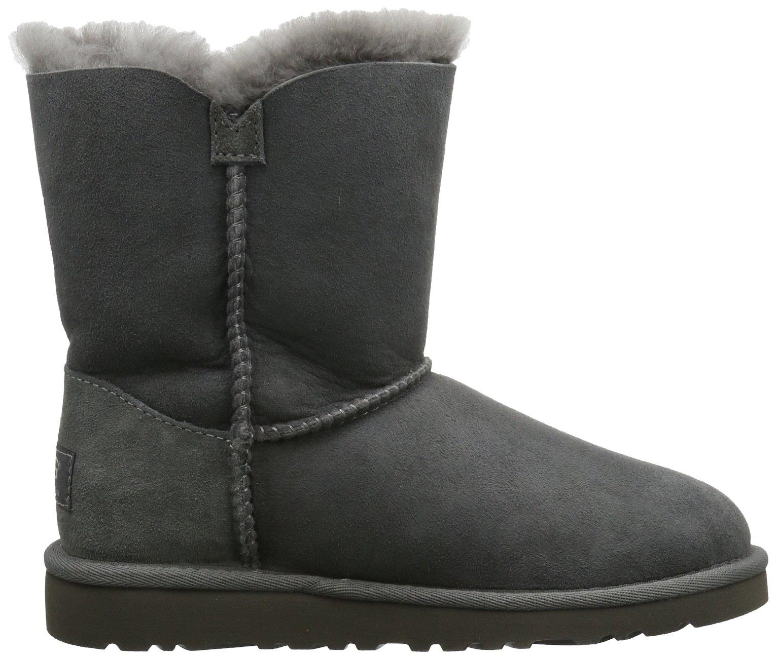 Ugg Australia Bailey Button Girls' Boots, gris (Grigio (grey)), 9 UK Child by UGG (Image #6)