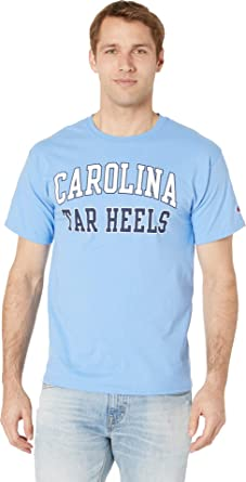 752f541c5f53 Champion College Men s North Carolina Tar Heels Jersey Tee Light Blue 2  Small