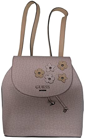 6addac3d0 Amazon.com   Guess Women's Society Backpack Blush   Casual Daypacks