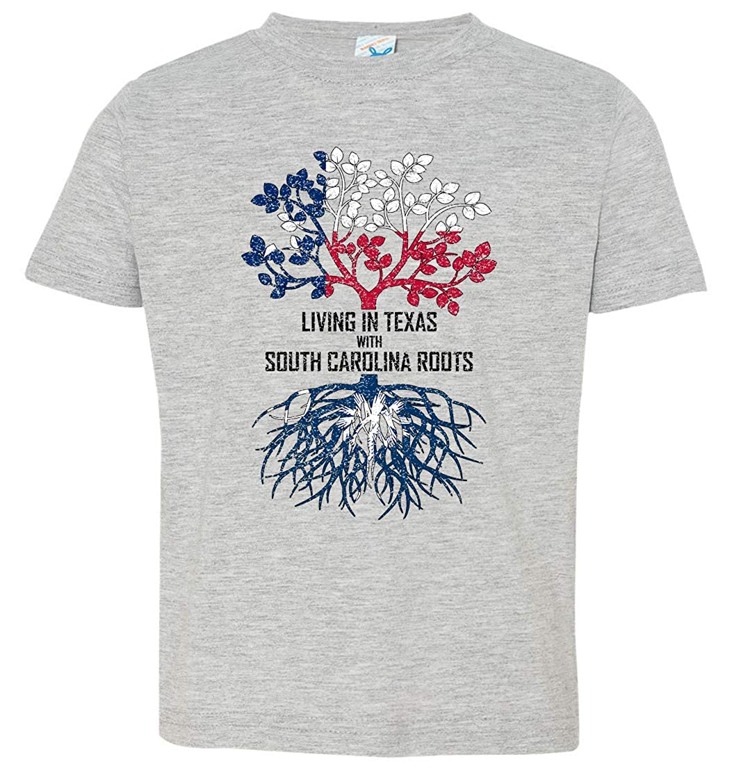 Tenacitee Babys Living in Texas South Carolina Roots Shirt