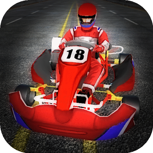 Go Kart Racing - Highway Traffic Madness