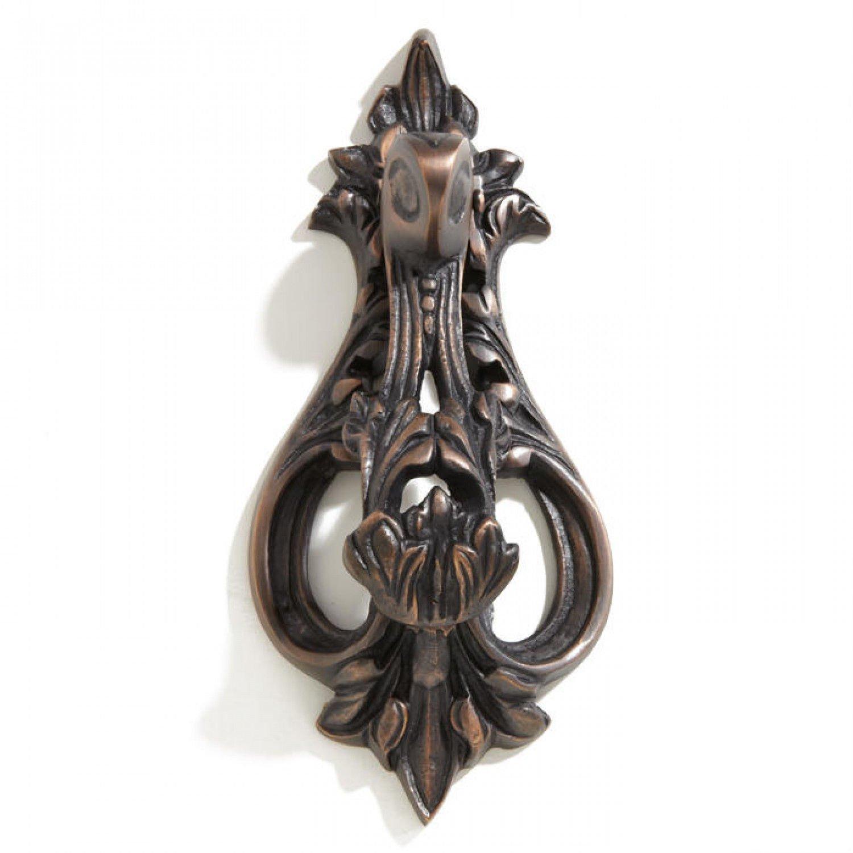 Casa Hardware Heavy-duty Brass Door Knocker in Oil Rubbed Bronze Finish