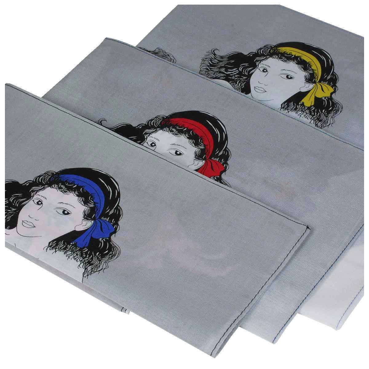 Fazzoletti «Petrouchka» - 45cm x 45cm – 3 pezzi Armando Caruso