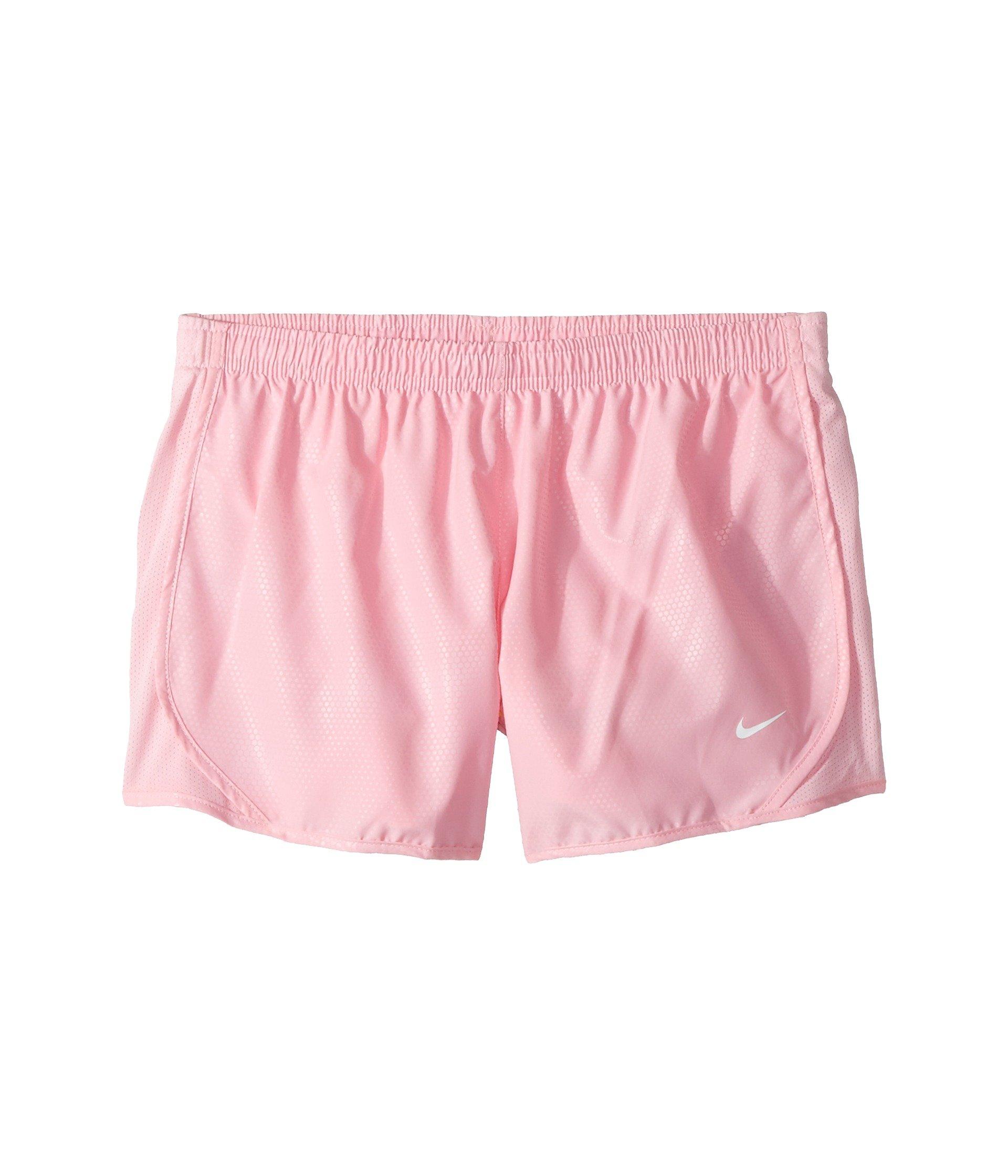 NIKE Tempo Older Kids' (Girls') Running Shorts (Pink/White, L) by Nike