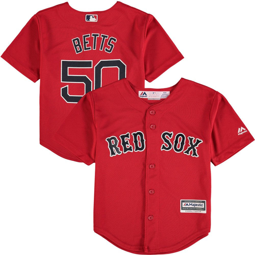the best attitude 61ad1 23b96 Amazon.com : Mookie Betts Boston Red Sox Toddler Cool Base ...