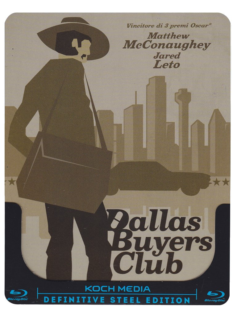 Dallas Buyers Club (Ltd Steelbook) [Italia] [Blu-ray]: Amazon ...