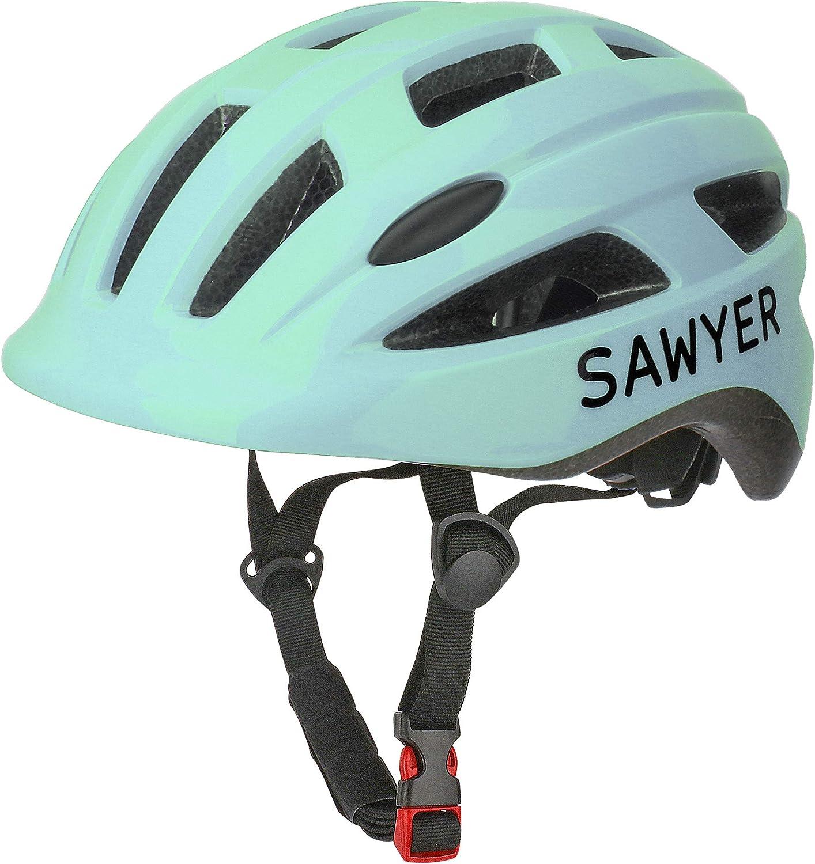 Sawyer - Casco Infantil Ajustable (Bicicleta/Patinete) - Niños 2, 3, 4 y 5 Años