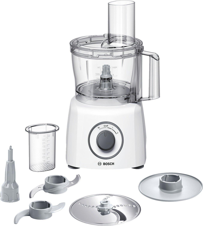Bosch MultiTalent3 MCM3100W - Procesador de alimentos, 800 W, color blanco: Bosch: Amazon.es: Hogar
