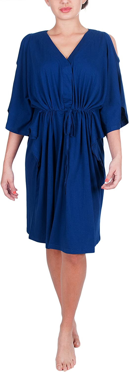 My Bella Mama Kaftan Maternity Nursing Hospital Delivery Gown