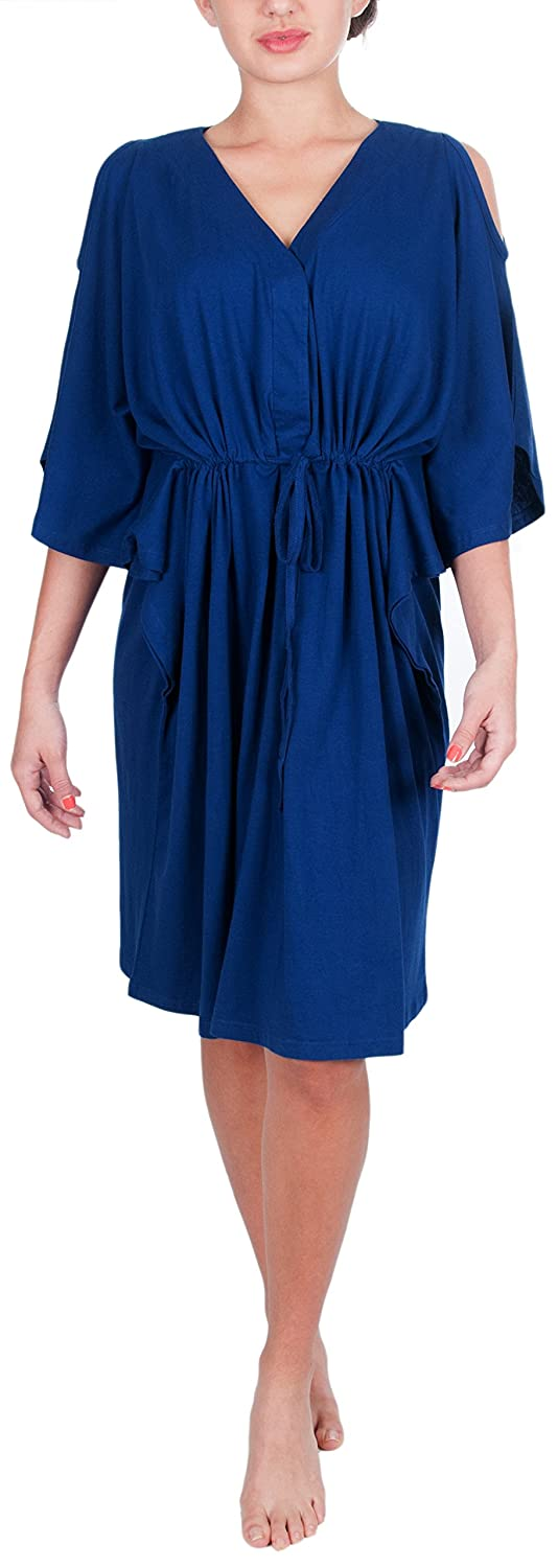 My Bella Mama Kaftan Robe for Maternity Delivery and Nursing KAFTAN72