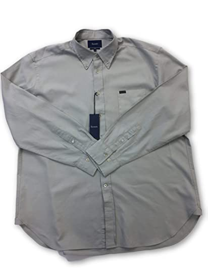 b56127ee Faconnable Shirt in Grey Size XXXL Cotton: Faconnable: Amazon.co.uk:  Clothing