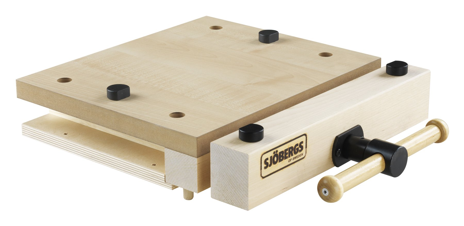 Sjobergs SJO-33274 Woodworking Portable Smart Vice with Superior Clamping Power Wherever You Need It by Sjobergs