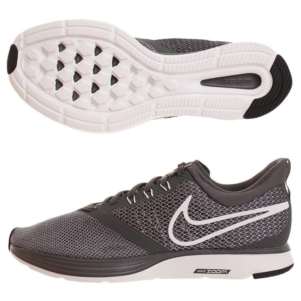 Nike Zoom Strike, Zapatillas de Running para Hombre, Gris (Dark Grey/White/Stealth/Black 002), 40 EU