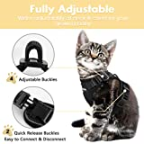 Eagloo Cat Harness Escape Proof Small Cat and Dog