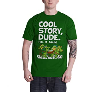 0af095a0a Officially Licensed Merchandise TMNT - Cool Story Dude T-Shirt (Green)