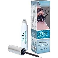 FEG Eyelash Rapid Eye Lash Growth Serum - For Eye Lash And Brow Fast Effective Growth Creates Longer & Darker Eyelashes…