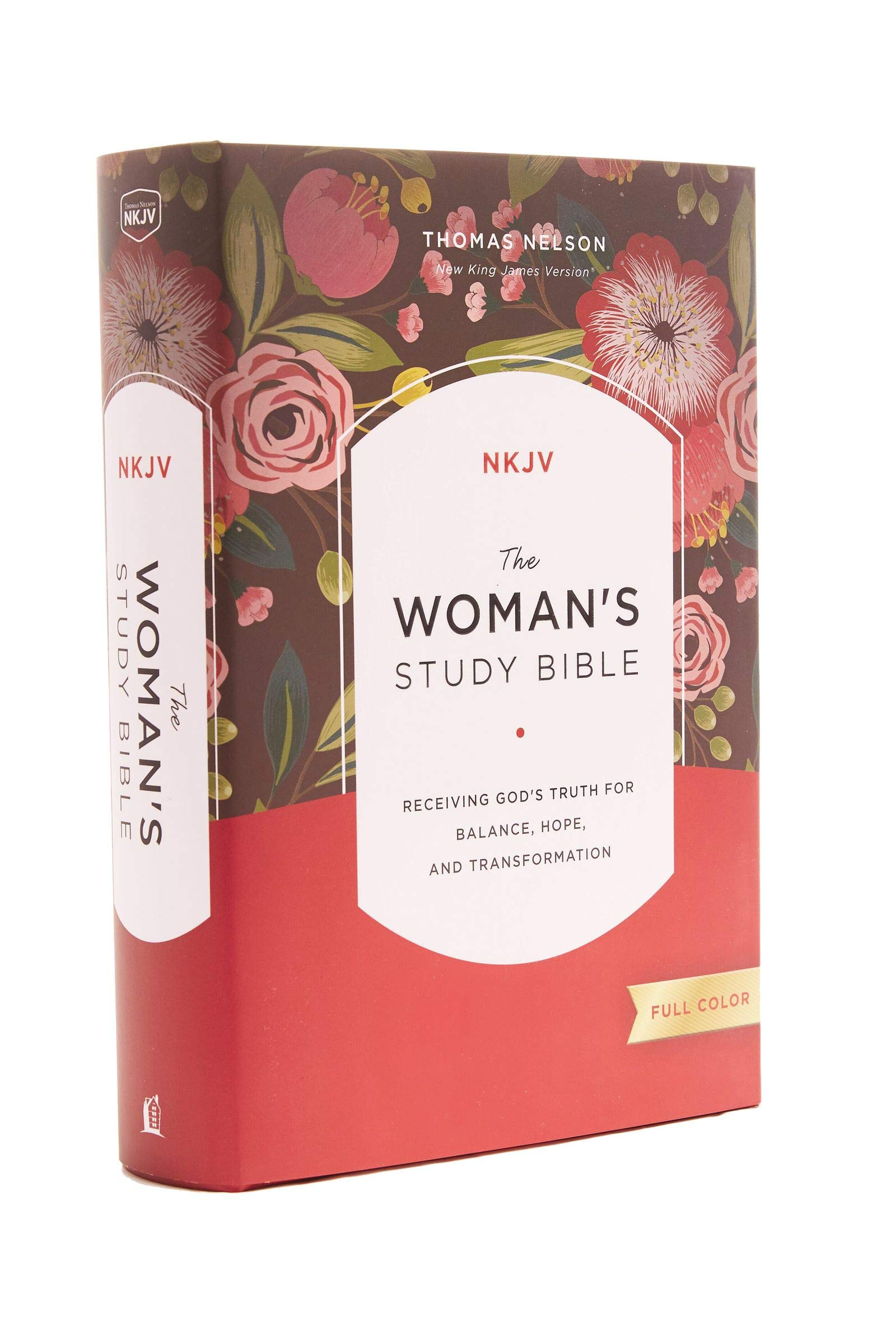 The NKJV, Woman's Study Bible, Hardcover, Red Letter, Full-Color Edition: Receiving God's Truth for Balance, Hope, and…