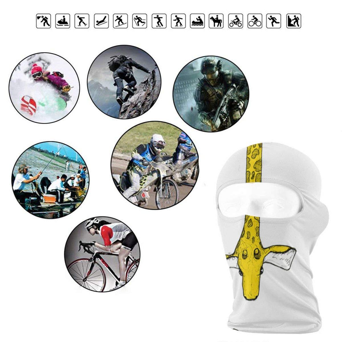 Balaclava Girl Holding A Basket Full Face Masks Ski Sports Cap Motorcycle Hood For Cycling Sports Snowboard