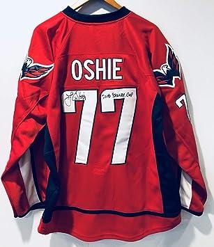 T.J. Oshie 2018 Stanley Cup Autographed Signed Washington Capitals  Autograph Jersey JSA 2c51675a6d6