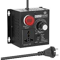SCR regulador,Controlador de voltaje/Velocidad/Temperatura/luz ajustable variador AC 220V