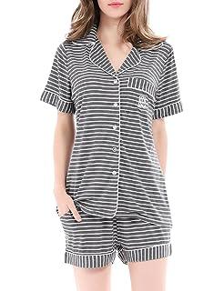 5da0b4d4210d NORA TWIPS Women's Short Pajamas Set, Pyjamas Set Shorts Women, Ladies  Pyjama Set,